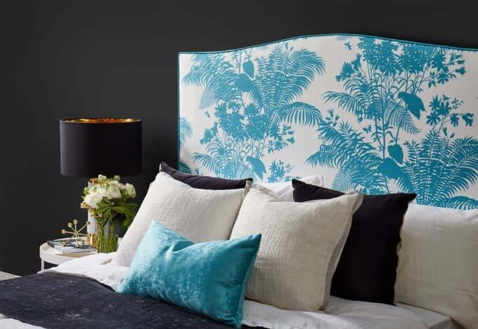Florence Broadhurst Shadow Floral Bedhead