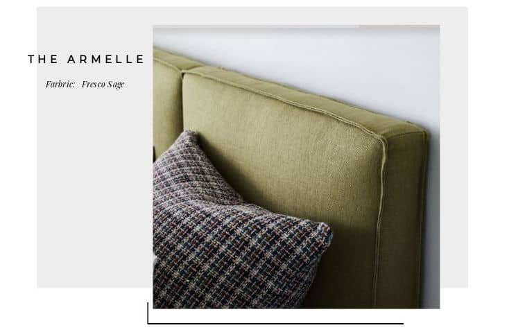 The Armelle bedhead Autumn/Winter '19 colour trends